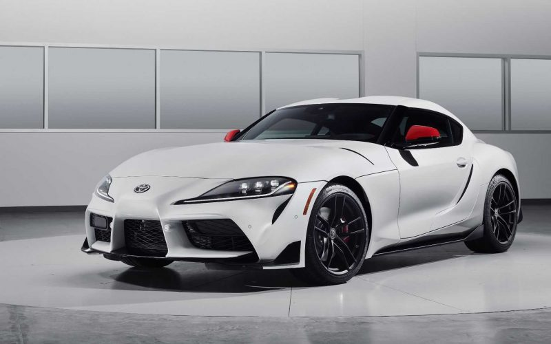 Toyota GR Supra Tries On A Wild Widebody Kit